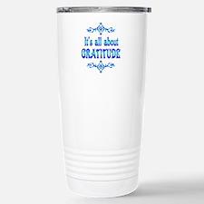 All About Gratitude Travel Mug