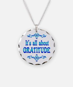 All About Gratitude Necklace