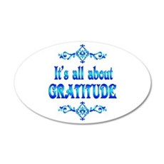 All About Gratitude Wall Decal