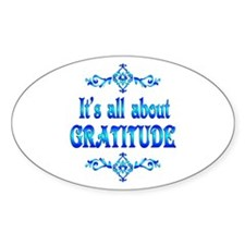 All About Gratitude Decal