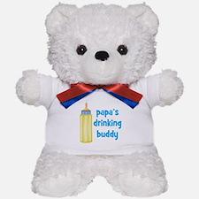Papas Drinking Buddy.png Teddy Bear