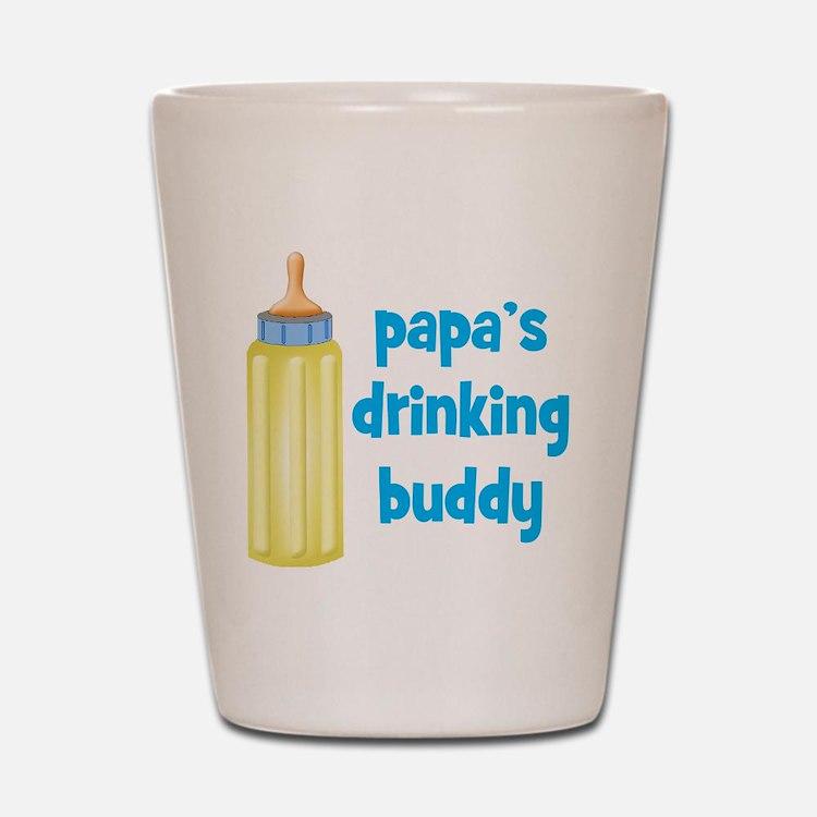 Papas Drinking Buddy.png Shot Glass