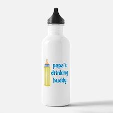 Papas Drinking Buddy.png Water Bottle