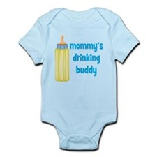 Mommys Drinking Buddy.png Infant Bodysuit