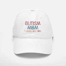 Autism Mom Loves Son Baseball Baseball Cap