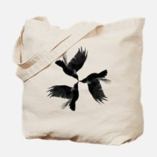 Crow Tessellation Tote Bag