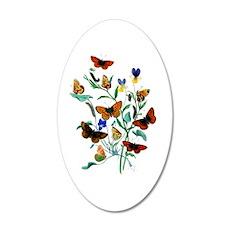 Butterflies of Summer Wall Decal