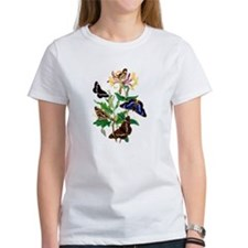 Butterflies and Honeysuckle Tee