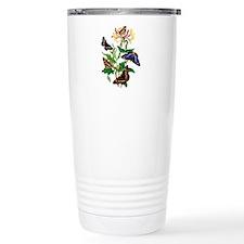 Butterflies and Honeysu Travel Coffee Mug