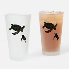 Sea Turtles Drinking Glass