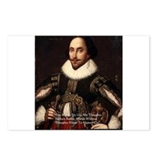 Shakespeare Words Fly Up Quote Postcards (Package