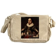 Shakespeare Words Fly Up Quote Messenger Bag