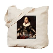 Shakespeare Words Fly Up Quote Tote Bag