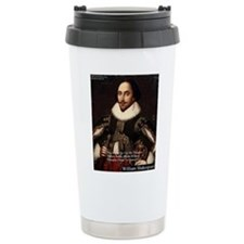 Shakespeare Words Fly Up Quote Travel Mug