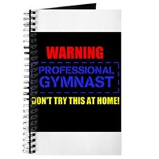 Unique Gymnast warning Journal