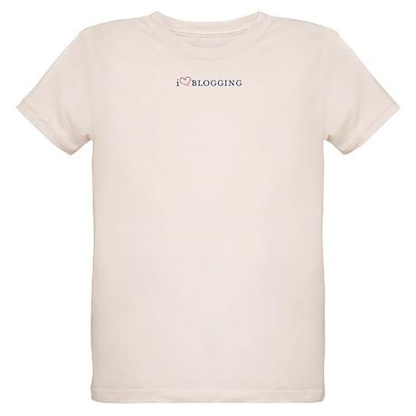 I Heart Blogging Organic Kids T-Shirt