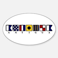 Antigua Sticker (Oval)