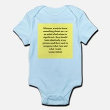 klimt4.png Infant Bodysuit