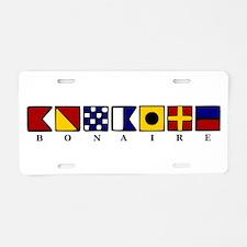 Bonaire Aluminum License Plate