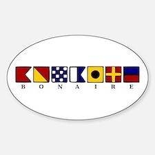 Bonaire Sticker (Oval)