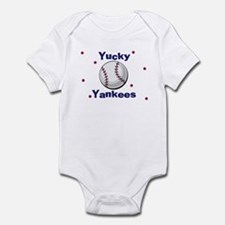 Yucky Yankees Infant Creeper