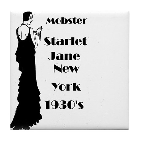 1930's New York Actress Tile Coaster