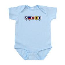 Nautical Nevis Infant Bodysuit