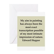 hopper9.png Greeting Card
