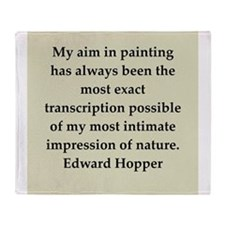 hopper9.png Throw Blanket