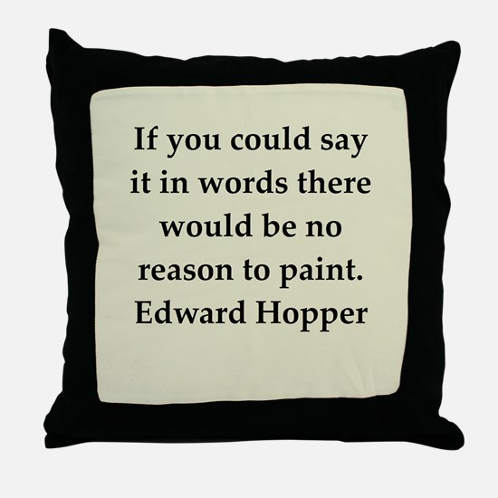 hopper5.png Throw Pillow