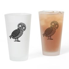 Owl Drinking Glass