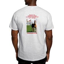 Save America's Horses HR 503/EPN Ash Grey T-Shirt