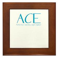 ACE logo 2 Framed Tile