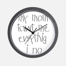 Home School Wall Clock