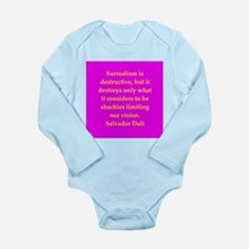 dali14.png Long Sleeve Infant Bodysuit