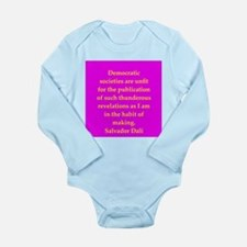 dali1.png Long Sleeve Infant Bodysuit