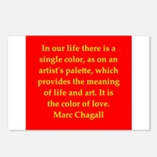 chagall6.png Postcards (Package of 8)