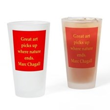 chagall2.png Drinking Glass
