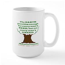 Need not Greed Mug