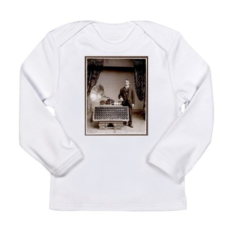 The Phonograph Long Sleeve Infant T-Shirt