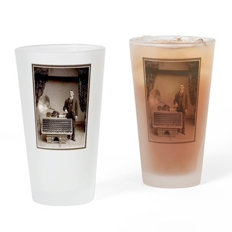 The Phonograph Drinking Glass