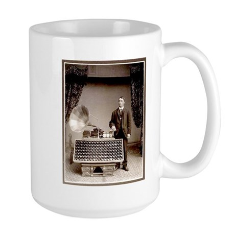 The Phonograph Large Mug