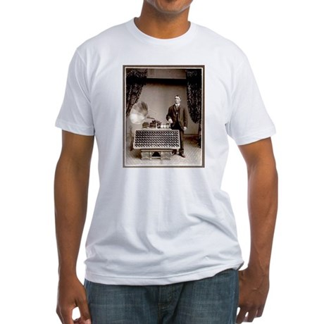 The Phonograph Fitted T-Shirt