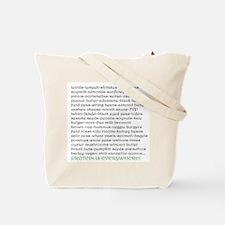 VeganProtein1 Tote Bag