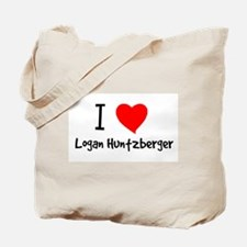 I Heart Logan Huntzberger Tote Bag