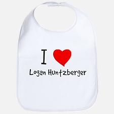 I Heart Logan Huntzberger Bib