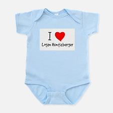 I Heart Logan Huntzberger Infant Creeper