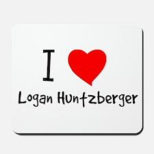 I Heart Logan Huntzberger Mousepad
