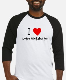 I Heart Logan Huntzberger Baseball Jersey