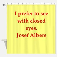 albers5.png Shower Curtain